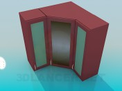 Angular lockers