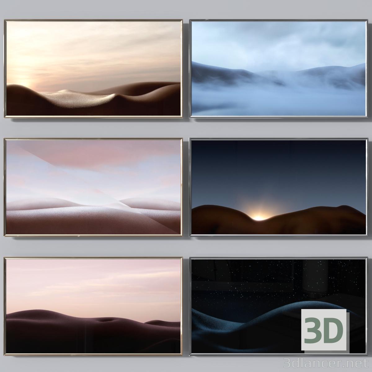 """3d Set """"The Transformation"""" model buy - render"""