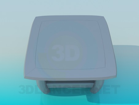 3d модель Стол – превью