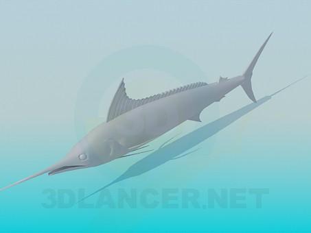 3d model Marlin - preview