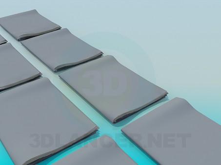 descarga gratuita de 3D modelado modelo Carpetas con documentos