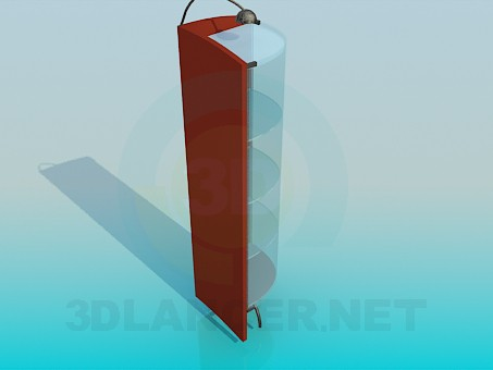 3d model Corner-illuminated stand - preview