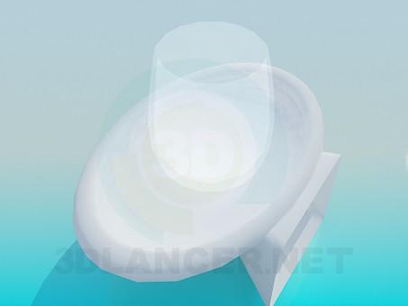 3d модель Подставка для стакана – превью