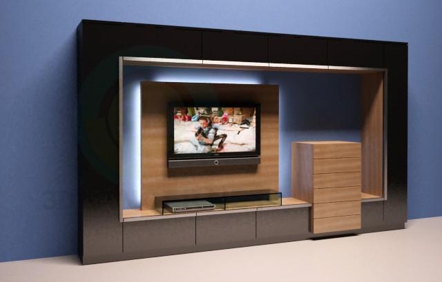 3d модель Мебель в гостиную GWINNER – превью