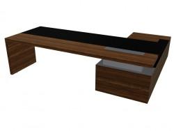 Office desk with pedestal Ceoo Schreibtische (2600H2030)