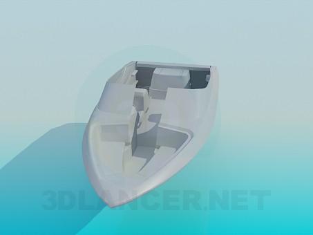 modelo 3D Barco - escuchar
