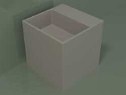 Countertop washbasin (01UN12102, Clay C37, L 36, P 36, H 36 cm)