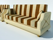 Turri sofas and armchair