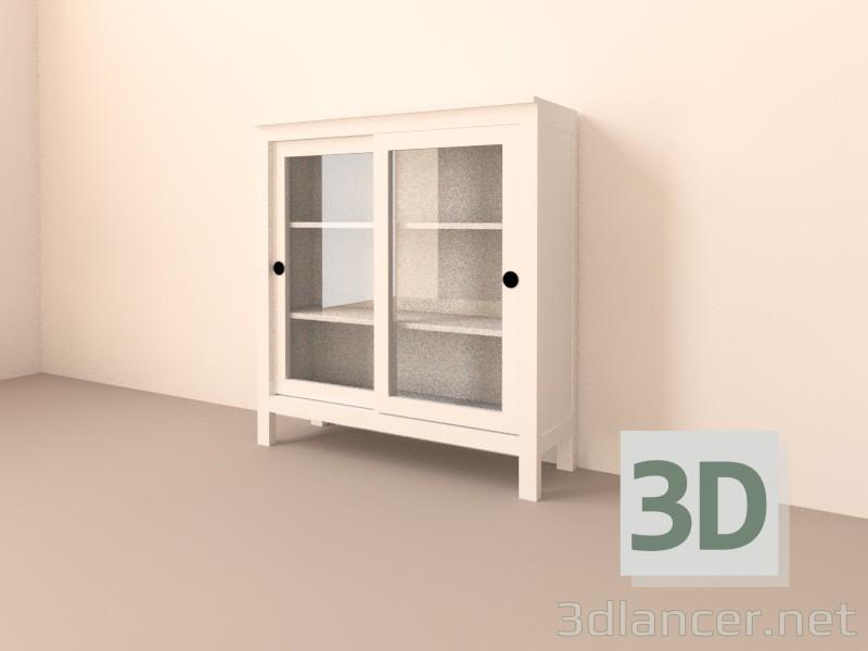 Scarica di IKEA Bookshelf Hjemnjes modello gratuito di modellazione 3D