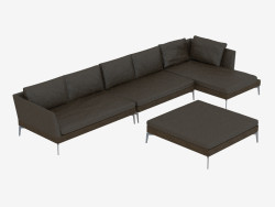sofás modulares 144 Angolo