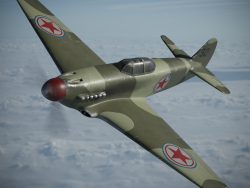Yakovlev Yak-9 Kampfflugzeug