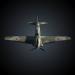 3d Yakovlev Yak-9 Fighter Plane model buy - render