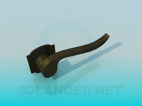 3d model The handle on the door - preview