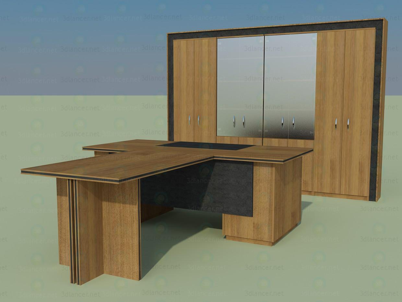 3d модель Кабинет Элит – превью