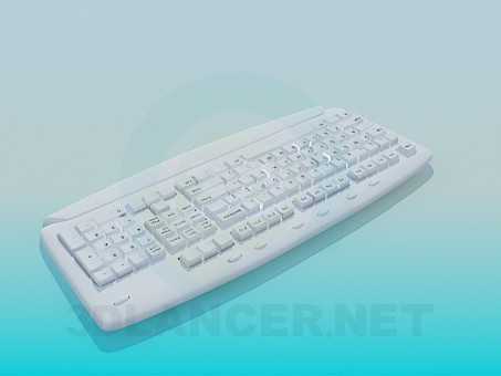 3d model Keyboard - preview