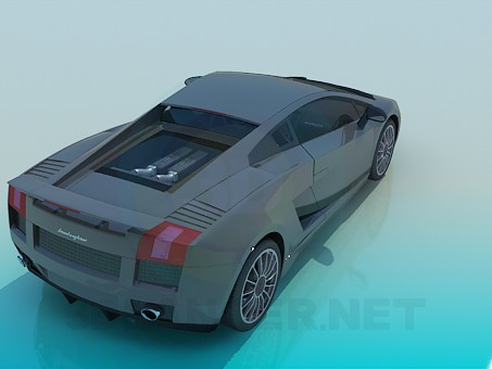 3d модель Lamborghini – превью
