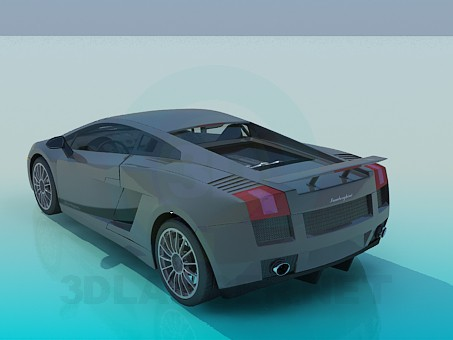 3d model Lamborghini - preview