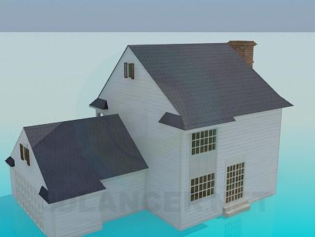 3d model Página de inicio - vista previa
