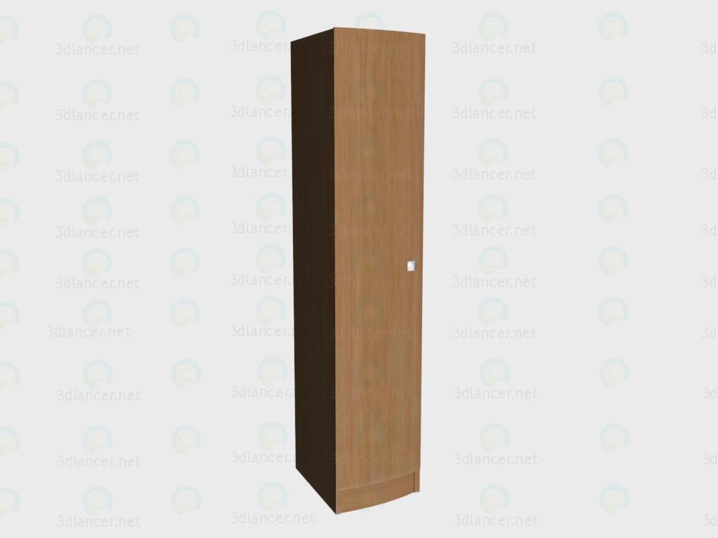 3d модель Шкаф 1-дверный правый VOX – превью