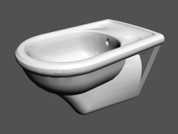Bidet on the wall l vienna b4 360х570х390