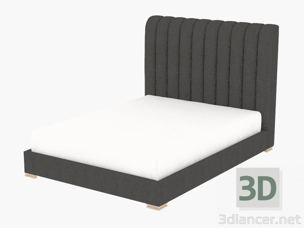 Modelo 3d HARLAN cama doble cama de tamaño queen CON MARCO (5103Q ...