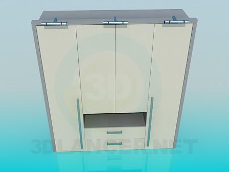 3d modeling Cabinet model free download