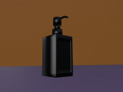 Rinnig Soap dispenser / IKEA / Black