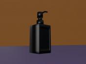 Rinnig Soap dispenser / IKEA / Black