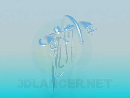 3d model tap - preview