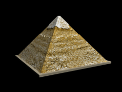The Egyptian Pyramid of Khafre