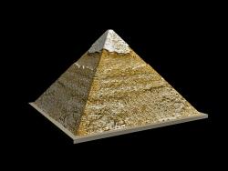 La pirámide egipcia de Khafre