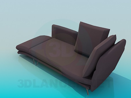 3d model Sofa couch - preview