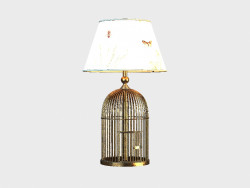 Lamp METAL BIRDCAGE TABLE LAMP (1-015902)