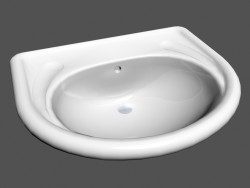 With Washbasin with a semi-built-in swimming pool l vienna r4 811405