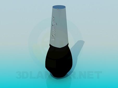 descarga gratuita de 3D modelado modelo Esmalte de uñas