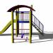 3d Children's complex №6 model buy - render