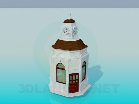 3d modeling Chapel model free download