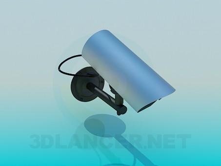 3d модель Камера видеонаблюдения – превью