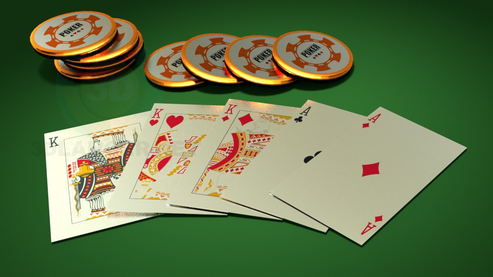 3d modeling poker model free download