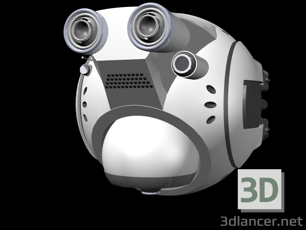 modèle 3D drone - preview