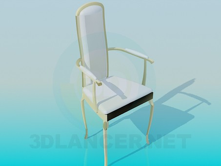 3d modeling Chair white model free download