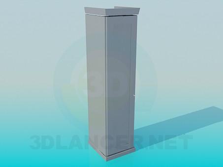 3d modeling Slim Cabinet model free download