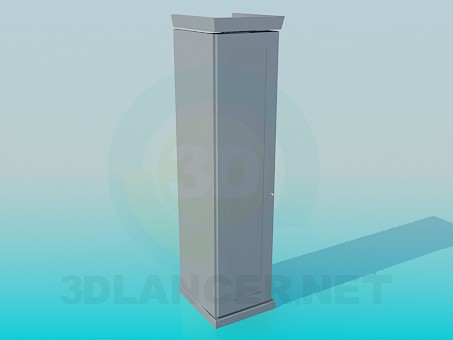 3d model Slim Cabinet - preview