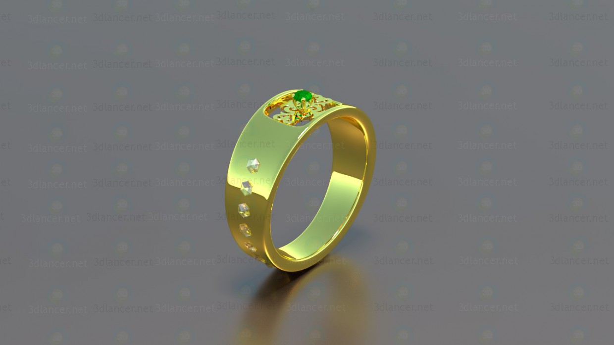 3d model Ring 7 - preview