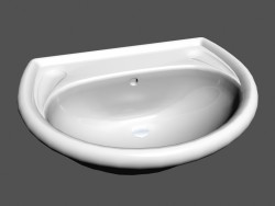 Under Washbasin leg l vienna r5 810034