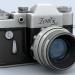 3d модель фотоапарат Zenit – превью