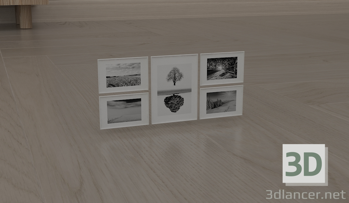 3d model Paintings - preview