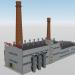 3d Foundry shop Emanzhelinskogo mechanical plant model buy - render