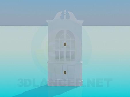 3d model Corner cupboard - preview