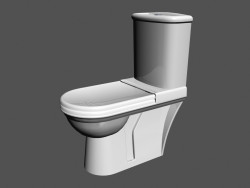 Toilet bowl L Vienna WC1 (combination) (821599)